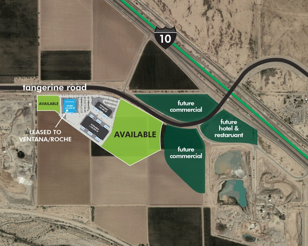 Tangerine Commerce Park Layout